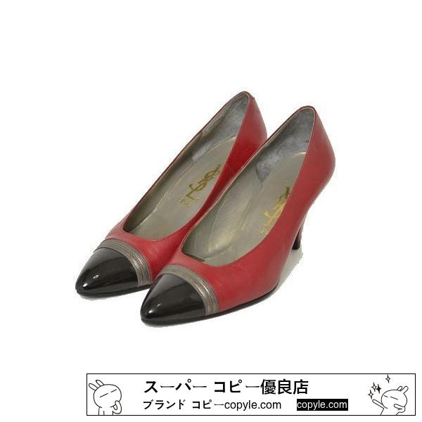 ■YSL■size35 1/2 pin heel shoes-2