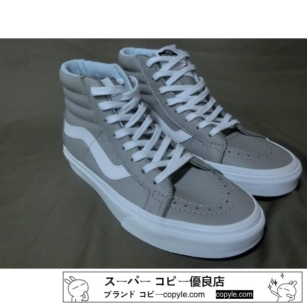 バンズ【VANS スーパー コピー】 【Sk8-Hi Reissue】 LEATHER 23.5㌢