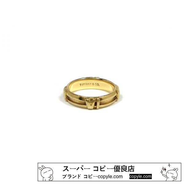 コピーティファニー スーパー コピーアトラスリング指輪750YG10号18金18Kイエロー-2