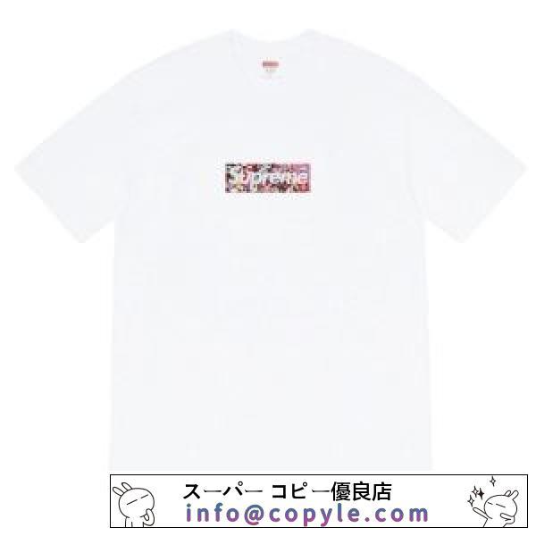 シュプリーム 2色可選 春夏に最も需要のある SUPREME 大人スタイリッシュ 半袖Tシャツ VIPセールで驚き-2