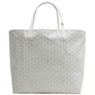 ゴヤールスーパーコピートートバッグ『サンルイGM』(ホワイト)AMALOUISGM50-BLANC-3