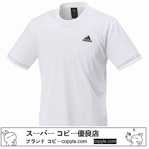 送料無料!アディダス コピー トレーニング TシャツDJF43-BR1314 SIZE:O-3