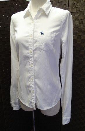 Abercrombie & Fitch スーパー コピー/綿100% ボタンダウンシャツ/サイズS-3