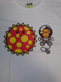 エイプCOSMOS BABY MILO限定TシャツLサイズ-3