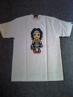 APE†フィギアキャラクタープリントTシャツ†††-3