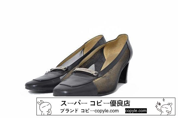 ■YSL■size35 1/2 pin heel shoes-3