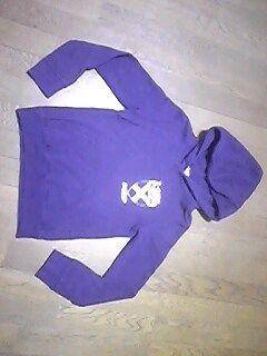エックスガール /パーカー/フード付/サイズ1=Sサイズ/紫色-3