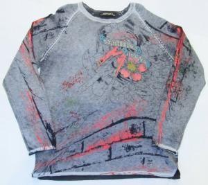 AL15)セールED Hardy スーパー コピーデザインセーター(EHM572)L-3