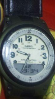 CASIO スーパーコピービンテージ腕時計アナログ+デジタルレトロ調-3