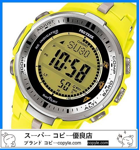 新品 ■カシオ スーパーコピー プロトレック 電波ソーラー 腕時計 PRW-3000-9B-3