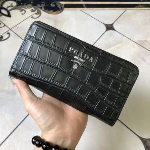 PRADA 最新トレンドコーデおすすめ プラダ  使いやすさのトレンド 財布/ウォレット 機能性が良くブランド新品-3