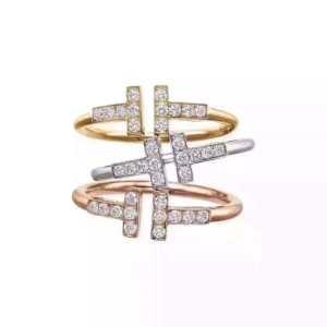 2019年秋冬のトレンドをカッコ良く押さえ  リング/指輪 保温の効果素晴らしい ティファニー 絶対に押さえておきたい人気色 Tiffany&Co-3