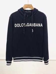 2色可選 パーカー 2019-20秋冬おすすめカラーも紹介 シンプルで高品質着回し ドルチェ&ガッバーナ Dolce&Gabbana-3
