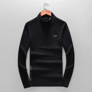 長袖Tシャツ2019トレンド秋冬おすすめ安い 大人かわいい秋冬コーデを楽しみ アルマーニ ARMANI-3