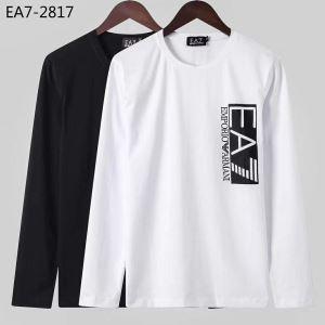 2020秋冬流行ファション アルマーニ ARMANI 長袖Tシャツ 2色可選 ファッショントレンドを早速チェック-3