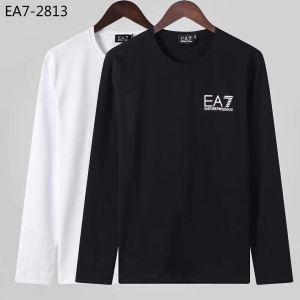アルマーニ ARMANI 長袖Tシャツ 2色可選 秋冬ファッションコーディネート 2019-20秋冬取り入れやすい-3
