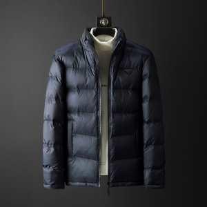 メンズ ダウンジャケット デザイン性も機能性も完備する秋冬新作 2色可選  寒い冬に耐えられない方へ プラダギフトにおねだりする2019秋冬新作 PRADA-3