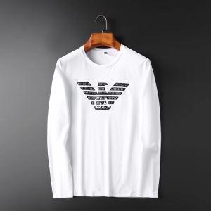 2色可選 長袖Tシャツ アルマーニ ARMANI 2019トレンドファッション新品 今から取り入れられるトレンド-3