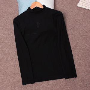 ヴェルサーチ VERSACE 長袖Tシャツ 2色可選 2019-20秋冬トレンドファッション おしゃれさんはいち早く取り-3