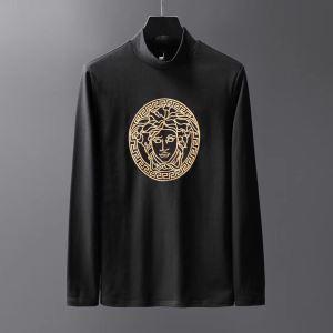 2019秋冬最重要アイテム ヴェルサーチ VERSACE 長袖Tシャツ 2色可選 おしゃれでおすすめ今季トレンド-3
