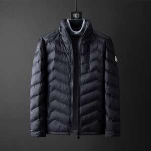 モンクレール 秋冬トレンドをうまく押さえ MONCLER 2色可選 2019秋冬着こなし方おすすめ  メンズ ダウンジャケットおしゃれで機能性の高い-3
