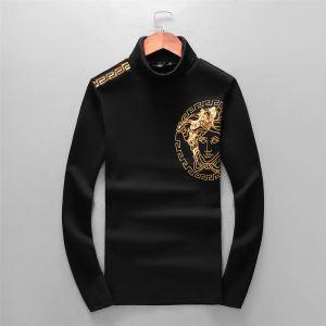 ヴェルサーチ VERSACE 長袖Tシャツ 絶対おさえるべきカラーと最新 2019秋冬トレンドアイテム-3