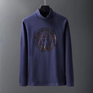 更にトレンドが急上昇中 2019秋冬トレンド押さえておきたい ヴェルサーチ VERSACE 長袖Tシャツ 3色可選-3