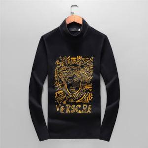 長袖Tシャツ ヴェルサーチ VERSACE 【2019秋冬】今きてる最先端ブランド 着心地もなめらかで快適-3