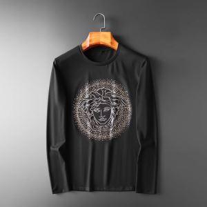 ヴェルサーチ VERSACE 長袖Tシャツ 2色可選 2019トレンドカラー秋冬セール 機能性が良くブランド新品-3