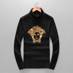 気になる2019年秋のファッション ヴェルサーチ VERSACE 長袖Tシャツ 秋冬から人気継続中-3
