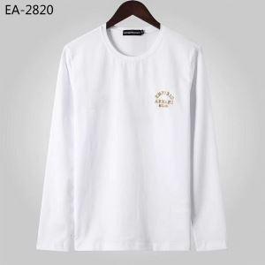 Armaniメンズクルーネックパーカーアルマーニコピー通販おすすめトレンドランキングスウェットシャツ着こなしオシャレコーデ-3