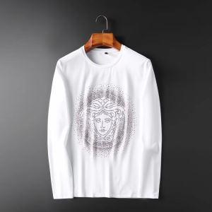 長袖Tシャツ 2色可選 秋ファションのトレンド  2019トレンドカラー秋冬セール ヴェルサーチ VERSACE-3