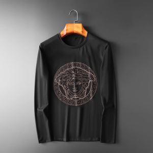 先取り 2019/2020秋冬ファッション 秋こそ楽しめるアイテム ヴェルサーチ VERSACE 長袖Tシャツ 2色可選-3