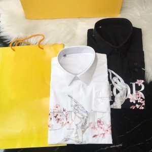 ディオール DIOR シャツ 2色可選 人気ブランドの秋冬新色 速報!2019年秋ファッショントレンド-3
