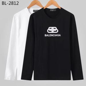 現在流行中のおすすめ人気 最重要!2019秋冬トレンド バレンシアガ Balenciaga 長袖Tシャツ 2色可選-3