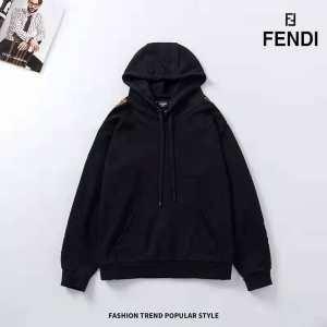 2020秋冬の新作 2色可選 冬の落ち着いたファッションに取り フェンディ FENDI パーカー-3
