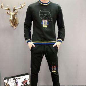 FENDI フェンディ2020トレンドアイテム激安 上下セット おしゃれなファッションコーデ-3