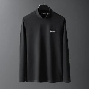 BAG BUGS バッグ バグズ フェンディ 長袖Tシャツ メンズ より洗練されたコーデに FENDI コピー ストリート 黒白2色 VIP価格-3