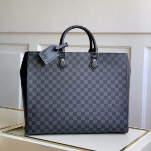 エレガントな雰囲気 ルイ ヴィトン LOUIS VUITTON おしゃれな人が持っている ビジネスバッグ-3