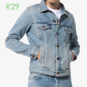 20新作です 使いやすい新品 デニムジャケット Off-White価格も嬉しいアイテム オフホワイト-3