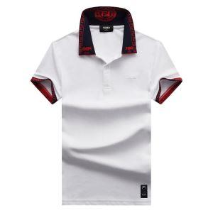 上品に着こなせ 半袖Tシャツ  多色可選 日本未入荷カラー フェンディ FENDI 注目を集めてる-3