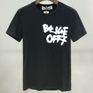 半袖Tシャツ 2色可選 新作が見逃せない Off-White 人気ランキング最高 オフホワイト 一目惚れ級に-3