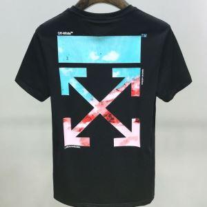 2色可選 着こなしを楽しむ 半袖Tシャツ 有名ブランドです Off-White 限定品が登場 オフホワイト-3
