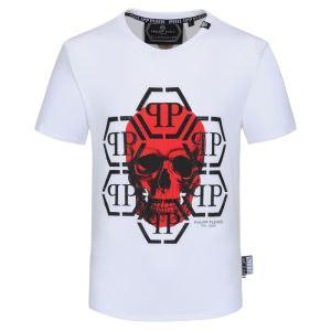 2色可選 半袖Tシャツ 大幅割引価格 フィリッププレイン 今年の春トレンド PHILIPP PLEIN 驚きのプライス-3