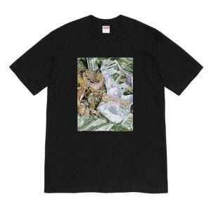 半袖Tシャツ さらに魅力的 3色可選 シュプリーム シンプルなファッション SUPREME  2020モデル-3