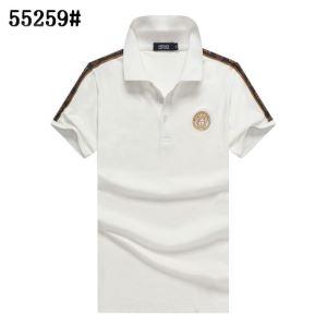 お買い得高品質 ヴェルサーチスーパー コピーVERSACE半袖ポロシャツ通販 洗練度が格段に高級品 大人っぽく素敵な新作-3