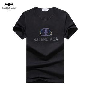 2020年春夏コレクション 半袖Tシャツ 2色可選 注目されている バレンシアガ BALENCIAGA 最先端のスタイル-3