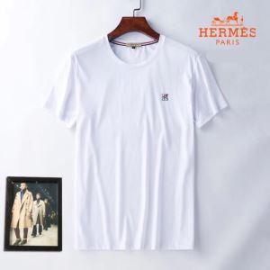エルメス どのアイテムも手頃な価格で HERMES 3色可選 ファッショニスタを中心に新品が非常に人気 半袖Tシャツ-3