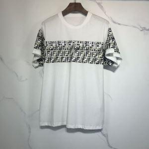 ランキング1位 2色可選  フェンディ FENDI 愛らしい春の新作 半袖Tシャツ 2020話題の商品-3