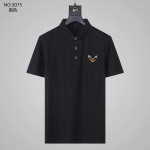 2020年春夏コレクション 半袖Tシャツ 2色可選 質の高い新品 フェンディ FENDI 最先端のスタイル-3